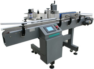 automatic wipe on labeler